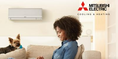 Up To $500 Off Mitsubishi Electric® Ductless Heating System, Queens, New York