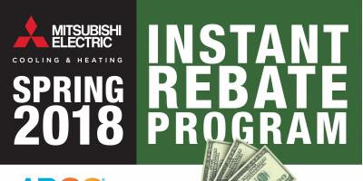 Spring Rebate on Select Mitsubishi Electric® Systems, Mount Vernon, New York