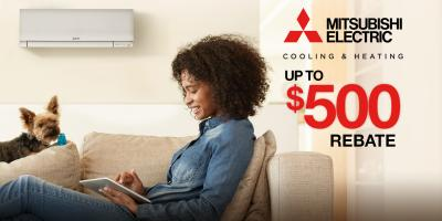 Instant Rebates on Mitsubishi Electric® Ductless Systems, Woburn, Massachusetts