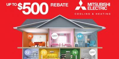 Claim Up To a $500 Rebate on a Heating and Cooling System, Clifton, New Jersey