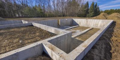 3 Items to Expect From Foundation Construction Projects, Jefferson, Missouri