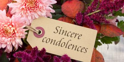 Funeral Home Shares 3 Tips for Sending Appropriate Condolence Gifts, Wayne, West Virginia