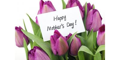 MOTHER'S DAY IS MAY 14TH, Anderson, Ohio