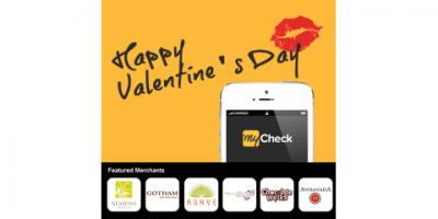 MyCheck's Top NYC Valentine's Day Destinations, Manhattan, New York