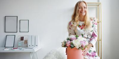 When to Send Corporate Flowers, Manhattan, New York