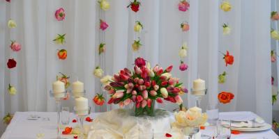 4 Unique Ways to Display Your Wedding Flowers, Manhattan, New York