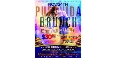 PURA VIDA BRUNCH PARTY- NOV 24- MAMAJUANA CAFE PATERSON , Paterson, New Jersey