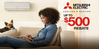 Receive Up to $500 Off a Mitsubishi AC This Spring!, Manhattan, New York