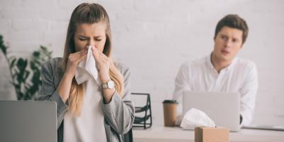 How to Reduce Office Germs During Cold & Flu Season, Tempe, Arizona