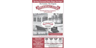 Save up to $325 per door with our rebate and coupon bundle!, Brookfield, Connecticut