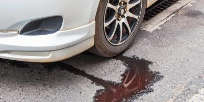 5 Fluids You May Find Leaking From Your Car, Green, Ohio