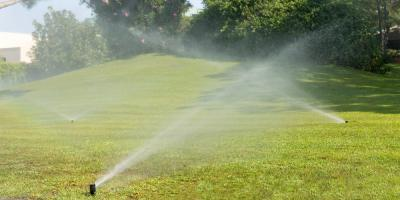 Choosing Between Portable & In-Ground Sprinkler Systems, Chalco, Nebraska