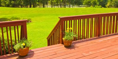 4 Common Types of Decking Materials , Stayton, Oregon