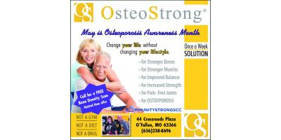 May is Osteoporosis Awareness and Prevention Month. , O'Fallon, Missouri