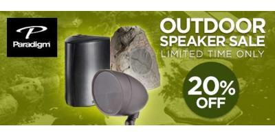 Save Big on Paradigm Outdoor Speakers!, Montgomery, Ohio
