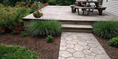 4 Benefits of Installing Stamped Concrete, Middleburg, Pennsylvania