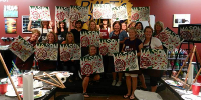 "Come Celebrate the One Year Anniversary of ""Paint & Sip"" at Pinot's Palette, Middletown, Ohio"