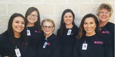 CMHS Nursing Supports Fellow Employees Battling Cancer, Gatesville, Texas