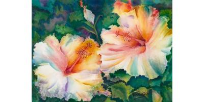 Wonders of Watercolor with Patrice Federspiel, Honolulu, Hawaii
