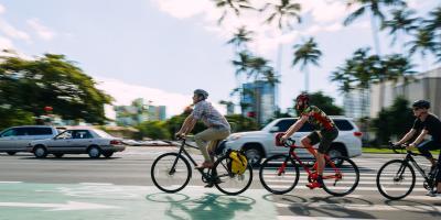 3 Road Rules to Follow When Biking, Honolulu, Hawaii