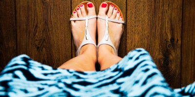 Show Off Your Sandals With a Perfect Pedicure From Gravity Hair Salon, Brooklyn, New York