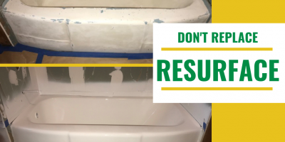 Resurfacing for Tubs and Countertops, Greensboro, North Carolina
