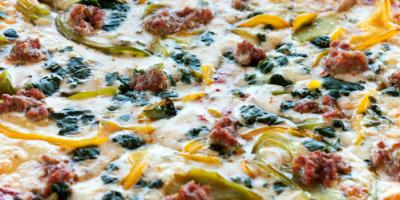 5 Delicious Specialty Pizzas at A'mis Italian Restaurant, Jefferson, Missouri