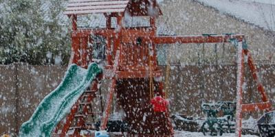 Backyard Playset Pros Share 3 Benefits of Outdoor Play in Winter, Urbandale, Iowa