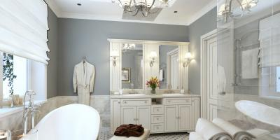 How to Decorate Your Bathroom With an Antique Theme, Clinton, Connecticut