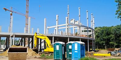 3 Top Benefits of Portable Toilets at Construction Sites, Robertsdale, Alabama