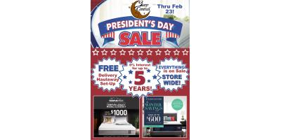 President's Day Mattress Sale! Thru Feb 23!, Minocqua, Wisconsin