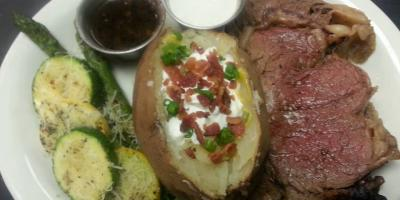 Open at 11 am today!  Prime Rib Dinner Special tonight!, Bon Secour, Alabama