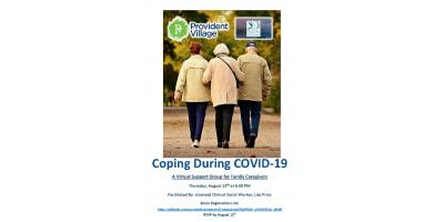 Coping During COVID-19: Virtual Support Group Meeting for Family Caregivers, Smyrna, Georgia