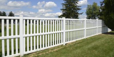 A Brief Guide to Maintaining a PVC Fence, Deep River, North Carolina