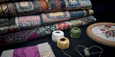 A Quilting Class Instructor Explains What Materials to Look For , Ellicott City, Maryland