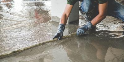 How to Prevent Concrete Burns, Cameron, North Carolina