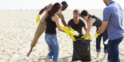 Why You Should Clean Up Beaches & Recycle Litter, Honolulu, Hawaii