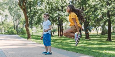 4 Fun Concrete Court Games to Get Kids Playing Outside, Charlotte, North Carolina