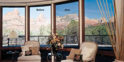 Before and after window film, Rochester, New York