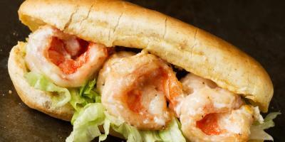 The History Behind Gulf Shore Restaurants' Po' Boy Sandwich, Gulf Shores, Alabama