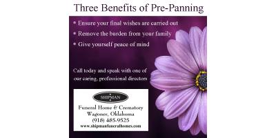 Benefits of Pre-Planning, Muskogee, Oklahoma