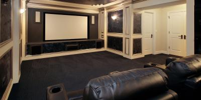 youve dreamed of a home theater system for a long time and finally your vision of watching movies sporting events and television series in a. beautiful ideas. Home Design Ideas