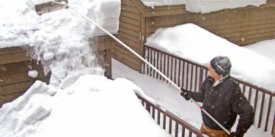 How to Remove Roof Snow Safely & Effectively, Concord, Missouri
