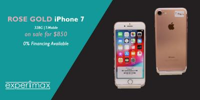Pre-owned iPhone® 7 -SALE- $280 at Experimax Portsmouth!, Portsmouth, New Hampshire