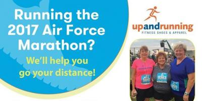 2017 Air Force Marathon Info Meeting at Local Fitness Apparel Store, Washington, Ohio