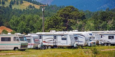 Not Currently Using Your RV? Keep It in an RV Storage Area, Cookeville, Tennessee