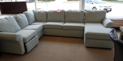 Four Piece Sectional With Power Recliner and Chaise Lounge., Lincoln, Nebraska