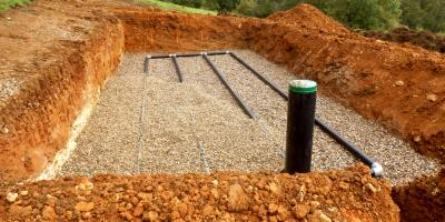 Choosing Crushed Stone for the Best Drainage Channels, Eagle, Ohio