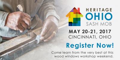 Don't Miss Heritage Ohio's Sash Mob Windows Workshop Weekend!, Dayton, Ohio