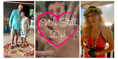 Spice Up Your Stay-at-Home with a Virtual Vow Renewal, Kailua, Hawaii